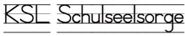 KSL Schulseelsorge Wortmarke