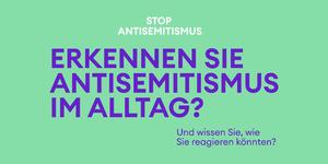 Stop Antisemitismus